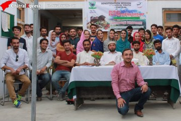 """Session on """"Rural Entrepreneurship"""" organized by Pakistan US Alumni Network (PUAN) KP Chapter in Chitral"""