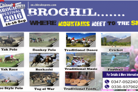 Broghil Festival Will Start on 16 of this month