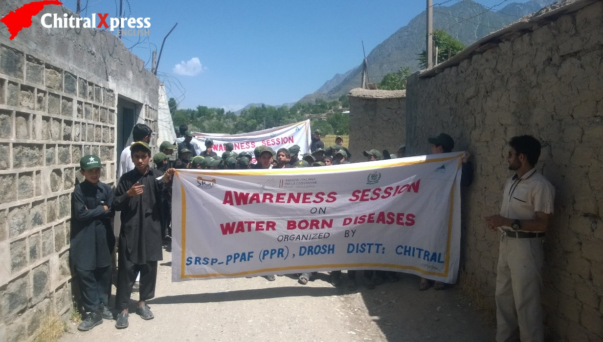 SRSP Activities in UC Drosh -Chitral