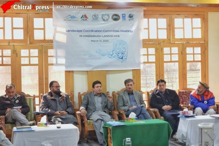 First Progress Review meeting of Landscape Coordination Committee (LCC) of Hindukush Landscape of Pakistan Snow Leopard and Ecosystem Protection Program (PSLEP)